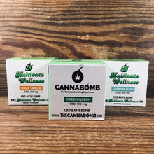 Load image into Gallery viewer, Cannabomb CBD Bath Bomb - Kultivate Wellness