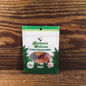 KW Full Spectrum CBD Organic Gummy Bears 25mg - Kultivate Wellness