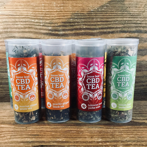 One Love Tea Loose Leaf CBD Tea - Kultivate Wellness