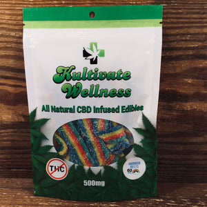 KW Rainbow Belts 60mg - Kultivate Wellness