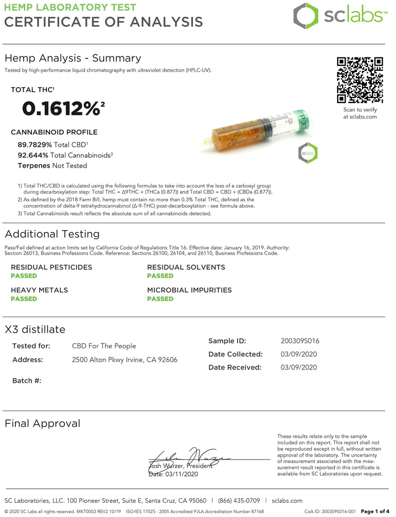 FTP X3 Cartridge - 81% Concentration - Kultivate Wellness