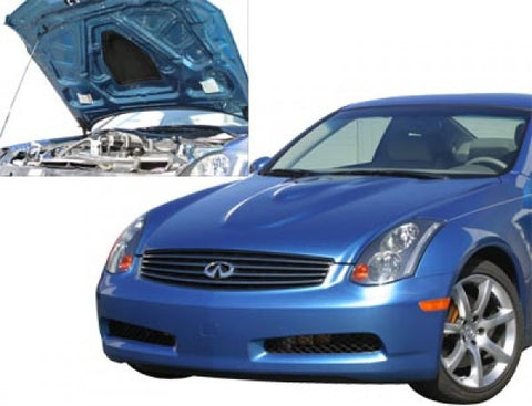 2003-2007 Infiniti G35 Coupe Power Hood [Fiberglass] - 1036007