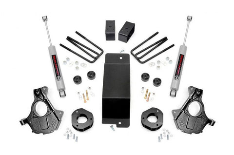 2014-2018 GMC Sierra/ Chevrolet Silverado Lift Kit - 4WD 1500 (w/ Knuckles) [3.5in] - 12130