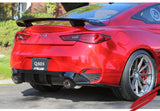 2017-2020 Infiniti Q60 3.0t Cat-Back Exhaust System [Carbon Tips] - 504454