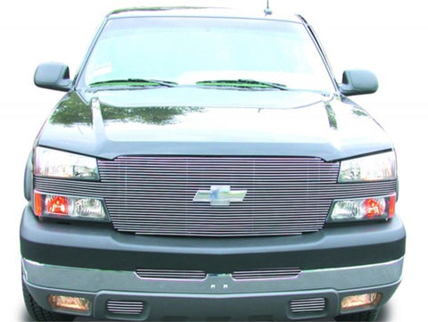 T-Rex Full Face Billet Grille -With Billet Grille Bowtie Installed 20102 16102P