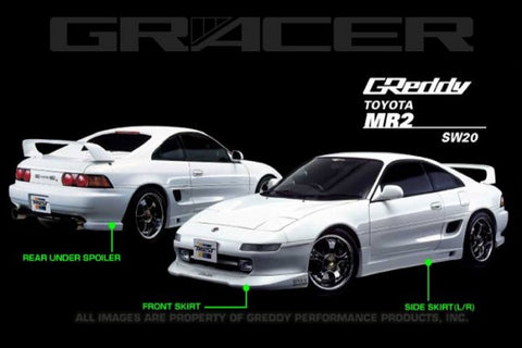 GReddy 1991-1995 Toyota MR2 Side Skirts 17010063