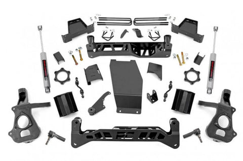 2018 GMC Sierra/ Chevrolet Silverado Lift Kit - 4WD 1500 (N3 Shocks) [7in] - 17430