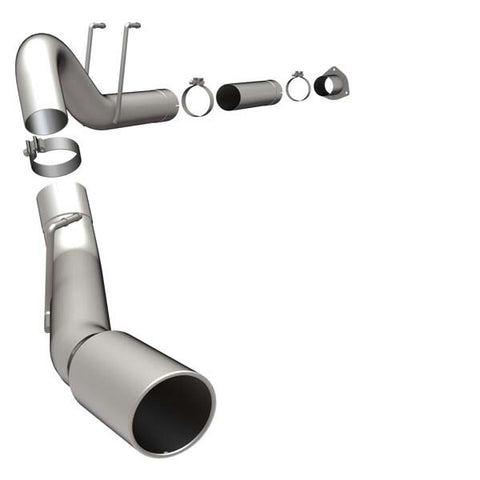 Ford F250, F350, F450 Super Duty Pro Performance Filter-Back Exhaust - Single Passenger Side Rear