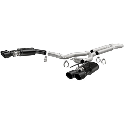 Ford Mustang Competition Series Black Cat-Back System Exhaust System Kit