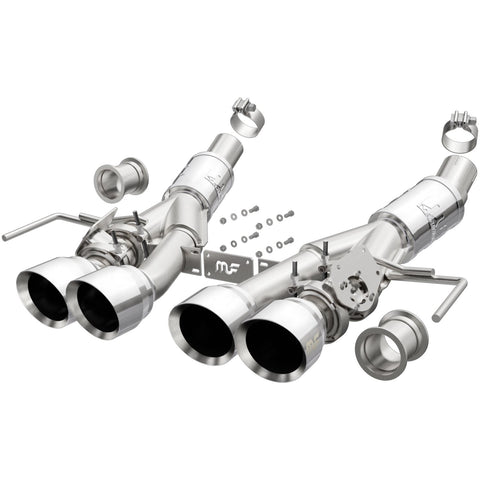 Chevrolet Corvette Competition Series Stainless Axle-Back System Exhaust System Kit