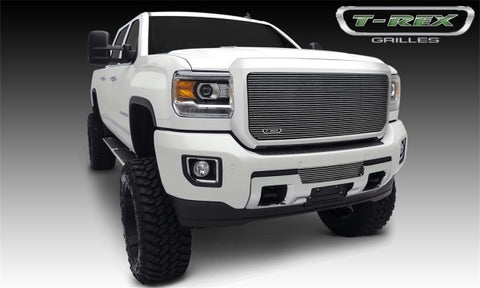 T-Rex 2015 GMC Sierra 2500 HD, 3500 HD Bumper Billet Grille - Polished 25211