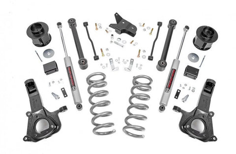 2009-2018 RAM 1500 Lift Kit 2WD - 2.2 Shocks [6in]  - 32230