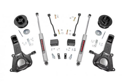 2009-2018 RAM 1500 Lift Kit - 2WD PERF 2.2 Shocks [4in] - 32330