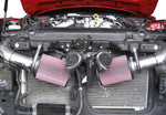 2007-2009 Nissan 350Z  Hi-Flow Ultra Long Dual Tube Air Intake (Gen 3) [Z33] - Dry Filter - 402845DF