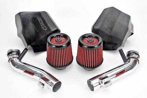 2009-2020 Nissan 370Z Dual Long Tube Air Intake (Gen 2) [Z34] - Dry Filter - 402851DF