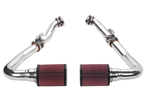 2009-2019 Nissan 370Z Air Intake - (Gen 3) Dual Hi Flow Ultra Long Tube [Z34] - Oil Filter - 402852