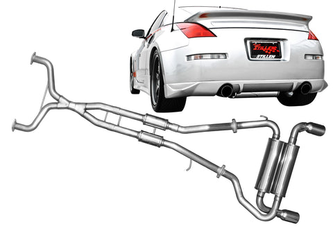 2003-2009 Nissan 350Z [Z33] STILLEN Stainless Steel Exhaust Systems - 504350D