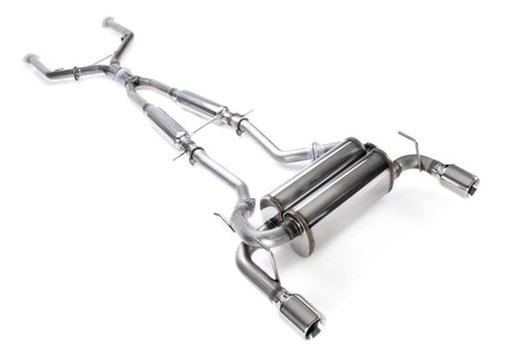 2008-2013 Infiniti G37 Coupe / 2014-2015 Infiniti Q60 Stainless Cat-Back Exhaust System - 504402