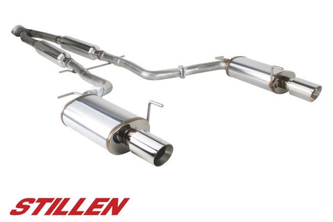 2011-2013 Infiniti M37 / 2014-2018 Infiniti Q70 Stainless Steel Near Cat-Back Exhaust System - 504437