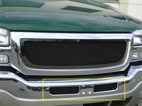 T-Rex Upper Class Bumper Mesh Grille - All Black 52200
