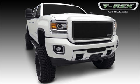 T-Rex 2015 GMC Sierra 2500 HD, 3500 HD Upper Class Series Bumper Grille - Black