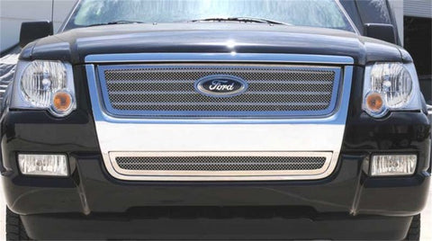 T-Rex Upper Class Polished Stainless Mesh Grille 54659