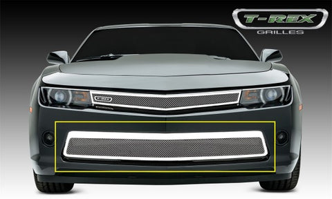 T-Rex Upper Class Polished Stainless Grille - 1 Piece 55032
