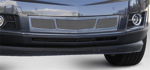 T-Rex Upper Class Mesh Bumper Grille With 3 Window Design - Polished Chrome 5718