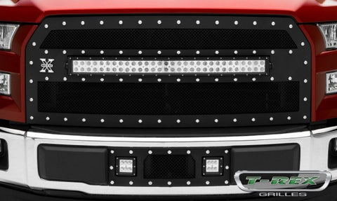 T-Rex Ford F-150 Torch Series LED Light Bumper Grille 6325731