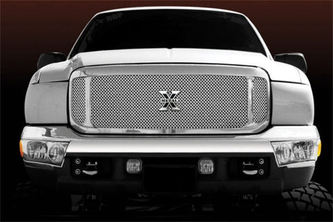 T-Rex X-Metal Grill Assembly - Chrome Shell With SS Mesh 6705700