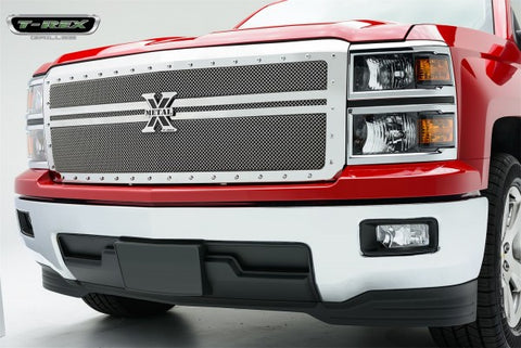T-Rex X-Metal Studded Main Grille - Polished Stainless Steel 6711180