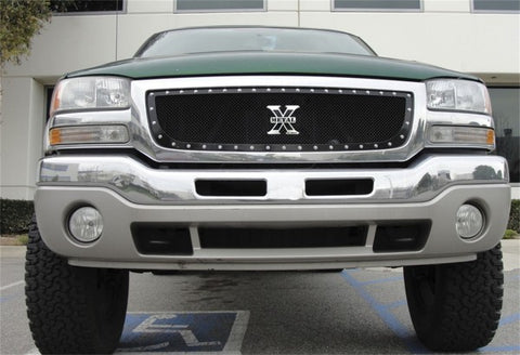 T-Rex X-Metal Studded Main Grille - All Black 6712001