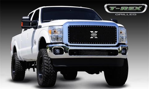 T-Rex X-Metal Studded Main Grille - All Black 6715461