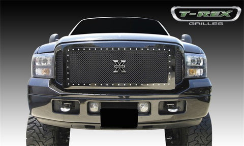 T-Rex X-Metal Studded Main Grille - All Black 6715611
