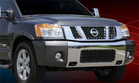 T-Rex X-Metal Studded Main Grille - All Black 6717811