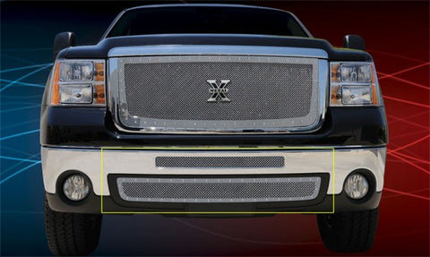 T-Rex X-Metal Studded Bumper Grille - Stainless Steel 6722060