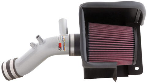 K&N Typhoon Air Intake Kits - Silver 69-2542TS KNN69-2542TS