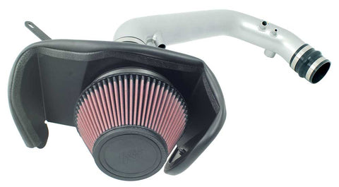 K&N Typhoon Air Intake Kits - Silver 69-7075TS KNN69-7075TS