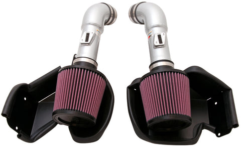 K&N Typhoon Air Intake Kits - Silver 69-7078TS KNN69-7078TS