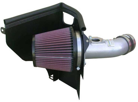 K&N Typhoon Air Intake Kits - Silver 69-8001TS KNN69-8001TS