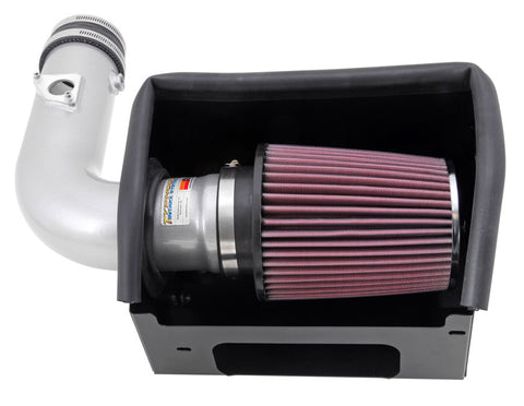 K&N Typhoon Air Intake Kits - Silver 69-8619TS KNN69-8619TS
