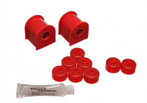 Energy Suspension Rear Sway-Bar Bushings - Red 7.5122R 75122R