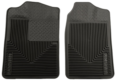 Husky Liners Heavy Duty Floor Mats - Black 51011 HUS51011