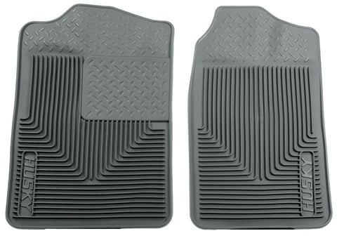 Husky Liners Heavy Duty Floor Mats - Grey 51012 HUS51012