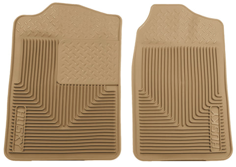 Husky Liners Heavy Duty Floor Mats - Tan 51013 HUS51013