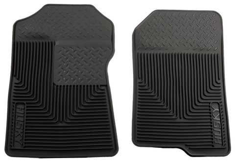 Husky Liners Heavy Duty Floor Mats - Black 51021 HUS51021