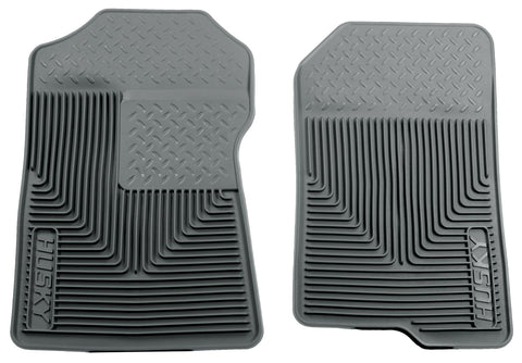 Husky Liners Heavy Duty Floor Mats - Grey 51022 HUS51022