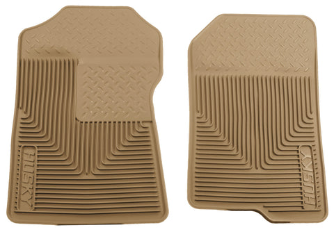 Husky Liners Heavy Duty Floor Mats - Tan 51023 HUS51023