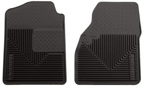 Husky Liners Heavy Duty Floor Mats - Black 51031 HUS51031