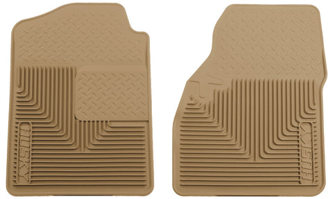 Husky Liners Heavy Duty Floor Mats - Tan 51033 HUS51033